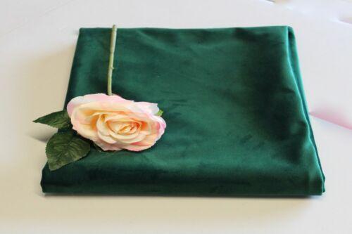 140  cms Upholstery // Furnishing  velvet 330 gsm BOTTLE GREEN by Truly