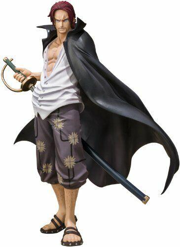 One Piece Figuarts Zero Red Haired Shanks Battle Ver PVC Figure Bandai Tamashii