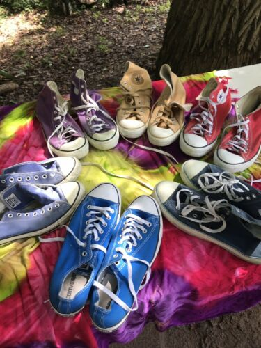 Awesome LOT VINTAGE CONVERSE ALL STAR CHUCK TAYLOR