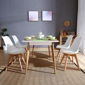 Image Is Loading Set Of 4 Dining Chair Retro Room