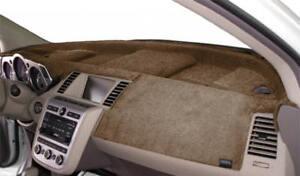 Mitsubishi-Lancer-2008-2013-w-Sensor-w-Nav-Velour-Dash-Mat-Mocha