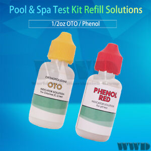 piscine spa kit de test recharge solutions test eau. Black Bedroom Furniture Sets. Home Design Ideas