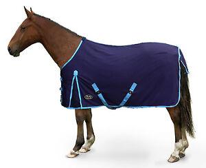 Gallop 100/% Cotton Summer Sheet Rug Navy//Sky