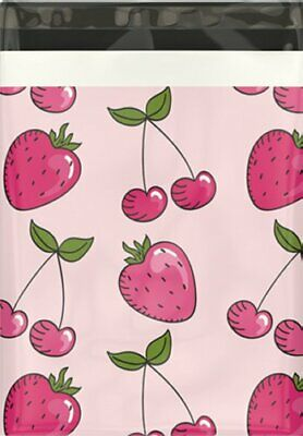 Boutique Designer Poly Mailer Bags Fast Shipping 10x13 Pink Citrus