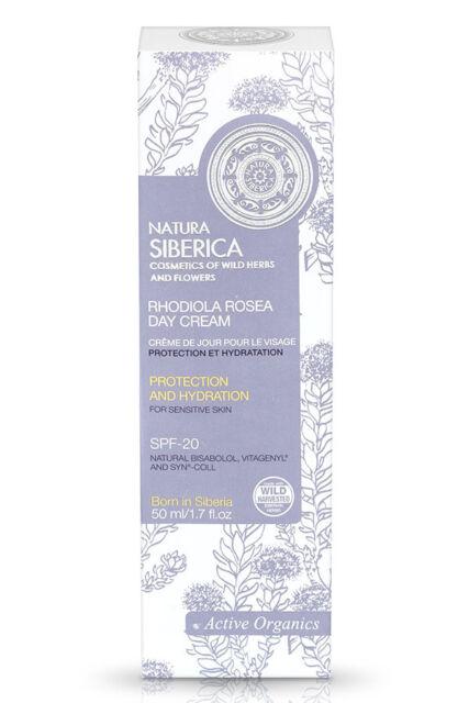 Natura Siberica Crema de Día Piel Sensible Protección e Hidratación (50ml)