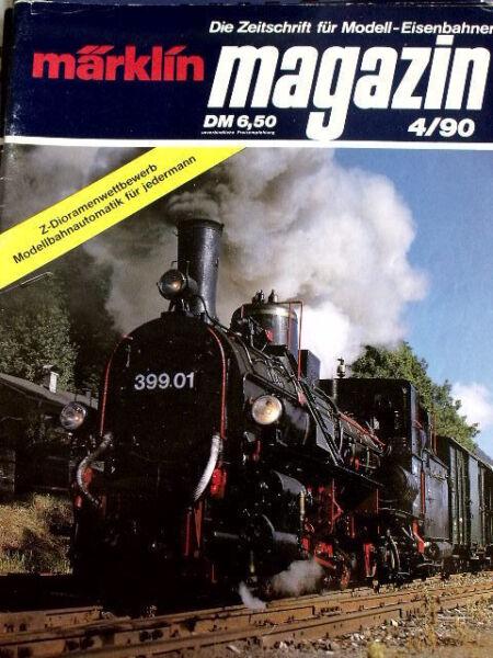 Appris Marklin Magazine Ed. Deu N°4 1990 - Tr.20