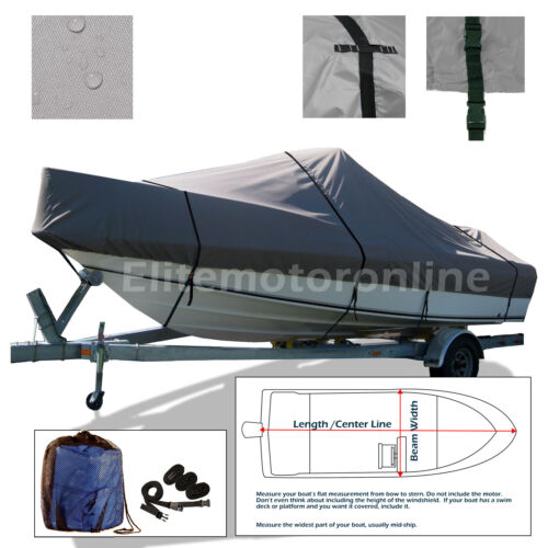 Sea Pro 206 CC Center Console Trailerable Boat Cover