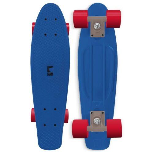 RAM Mini-Cruiser Old School 22 inch 56 cm lang Penny Board blau rot grün Neu