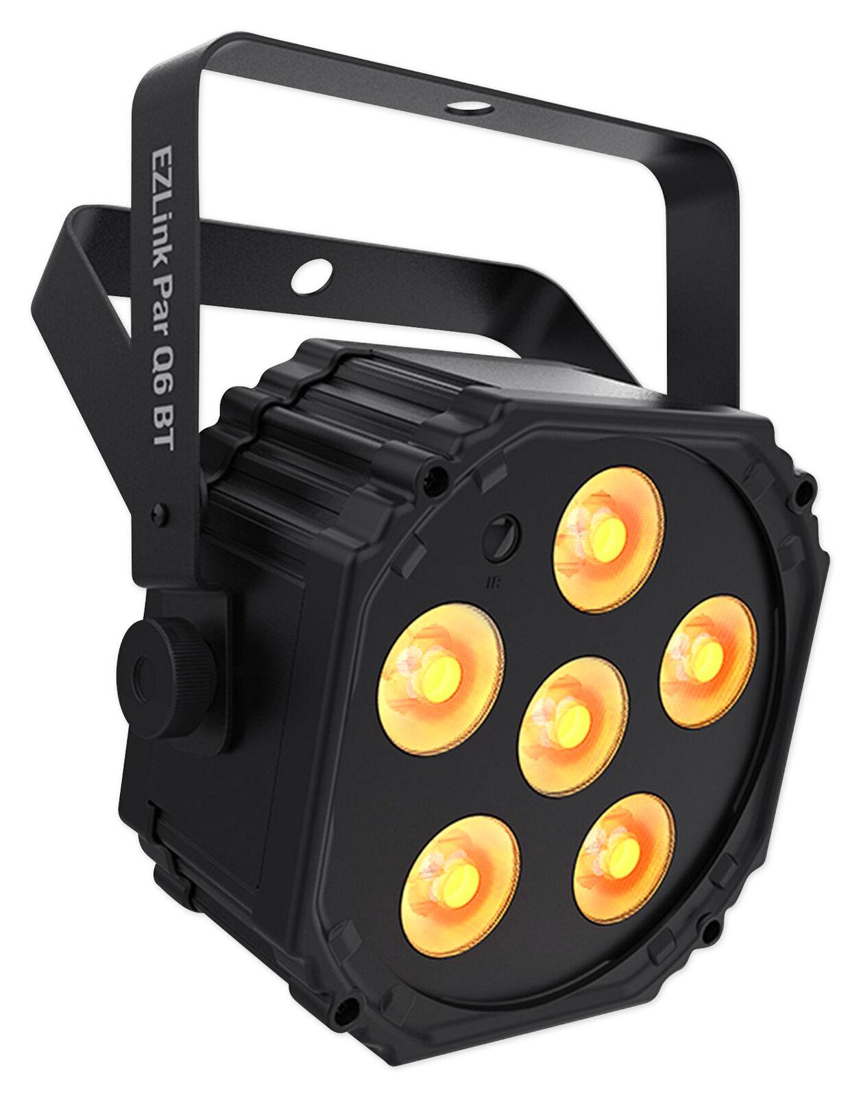 Chauvet DJ Ezlink Par Q6 BT Wireless Battery-Powered RGBA Bluetooth Wash Light