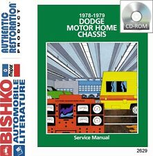 1978 1979 Dodge Class A Motorhome RV Chassis Shop Service Repair Manual CD OEM