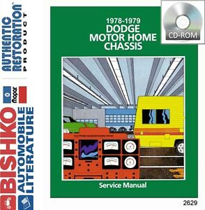 Details about 1978 1979 Dodge Class A Motorhome RV Chassis Shop Service  Repair Manual CD OEM