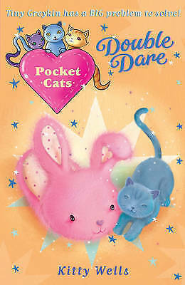 1 of 1 - Pocket Cats: Double Dare by Kitty Wells (Paperback)