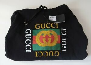 New-Gucci-Hoodie-Mens-Size-Medium-100-Authentic