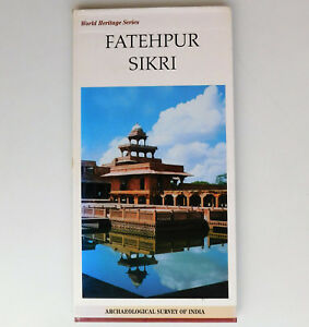 Fatehpur-Sikri-World-Heritage-Series-book-Archaeology-of-India-tourist-guide-map