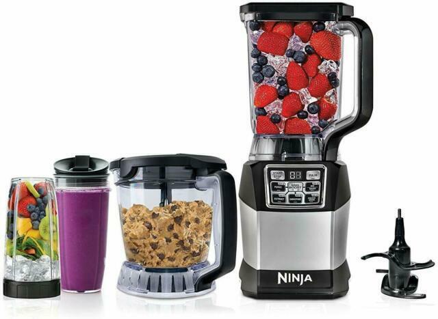 Ninja Bl910 1200 W Food Blender System Black For Sale Online Ebay