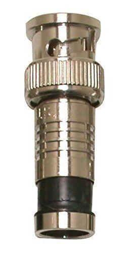 Eclipse 705-006-BK-20 BNC Connector for RG6//U Black 20 pk
