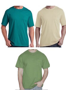 435a7862555c0b Fruit of the Loom Men s Pocket T-shirt Big and Tall Cotton Tee