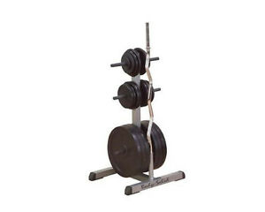 Image is loading Body-Solid-Weight-Tree-&-Bar-Rack-GSWT-  sc 1 st  eBay & Body-Solid Weight Tree u0026 Bar Rack GSWT Standard Plates | eBay