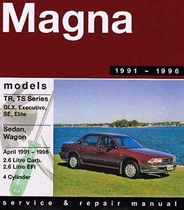gregory s service repair manual mitsubishi magna tr ts 1991 1996 rh ebay ie 2012 Mitsubishi Magna 2005 Mitsubishi Mirage