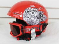 2013 Smith Galaxy Goggles / Cosmos Jr Helmet Combo Pack Ski Snowboard Youth Red