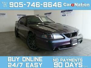 1996 Ford Mustang COBRA | MYSTIC PURPLE | SUPERCHARGED | UPGRADED