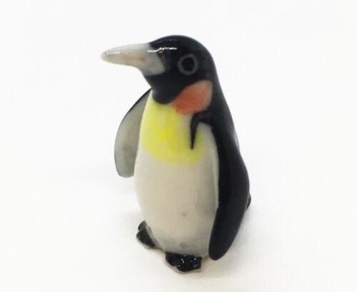 Miniature Little Penguin Cute Figurine Collectible Ceramic Animal Decor Handmade