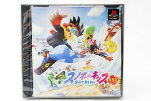 Snobow-Snowboard-Kids-Plus-PS1-Japan-Action-Racing-Fun-Cute-Game-Playstation