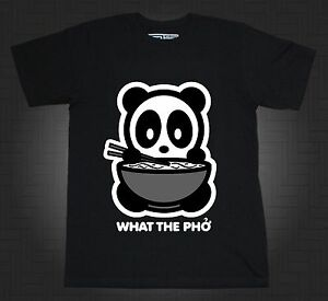 536dc9ebc Bambu Brand Panda Shirt What The Pho Cute Kawaii Cartoon Anime Hello ...