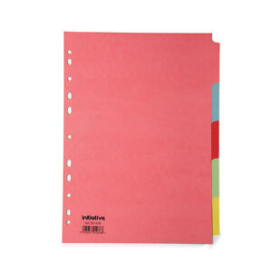 5-Part-Subject-File-Filing-Dividers-A4-Multi-Coloured