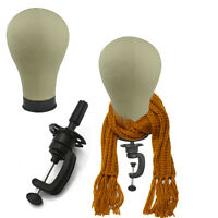 22 Mannequin Head Holder Stand Dummy Wig Clamp Table Canvas Cosmetology-manikin