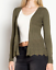 Women Cardigan Long Sleeve Light Weighted  Solid Open Front Sweater  USA SELLER
