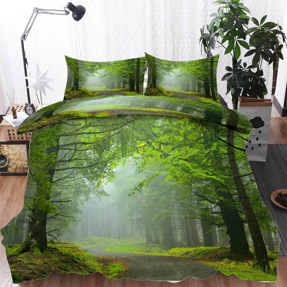 Curved Nice Avenue 3D Printing Duvet Quilt Doona Covers Pillow Case Bedding Sets