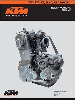 2001-2007 ktm 520 xc haynes repair manual 4629 | sixity. Com.