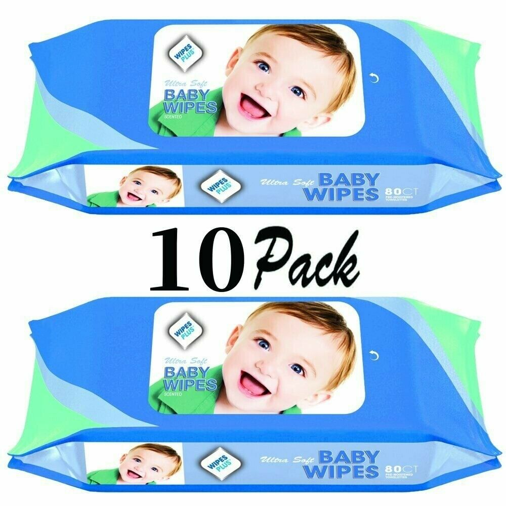 Value Pack of 80 Lansinoh 20540 Diaper Clean /& Condition Baby Wipes Cloths