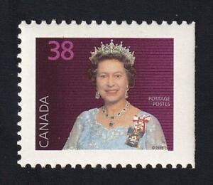 Canada 1988 QEII 38¢ definitive, MNH sc#1164as (straight edge)