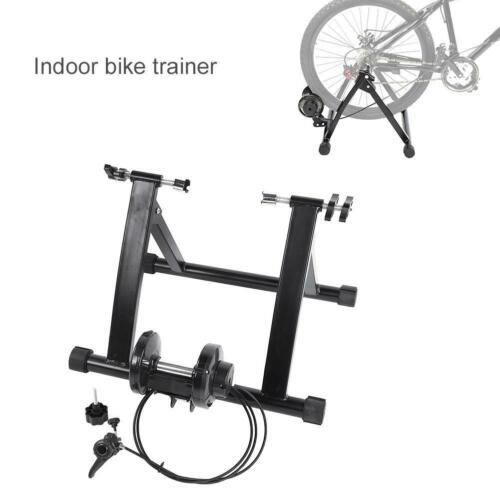 Magnetic Indoor Bicycle Bike Trainer Exercise Stand  for Tire Size 24-28in