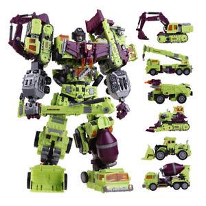 Transformers NBK Devastator Transformation Toy Oversize Action Figure Gift