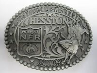 National Finals Rodeo Hesston 2009 Nfr Adult Cowboy Buckle Agco Prca Vegas