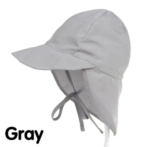 Kids Boys Girls Summer Outdoor Sun Hat Beach Hat Legionnaire Cap Solid Casual
