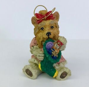 Yorkshire-Terrier-Dog-Christmas-Ornament-Resin-Holiday-Tree-Decoration-3in