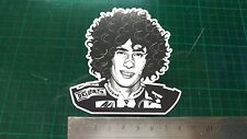 Simoncelli Face Decal Sticker Moto GP laptop helmet bike car scooter abstract