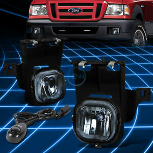 Image Is Loading Smoke Tinted Front Driving Fog Light Lamp Switch