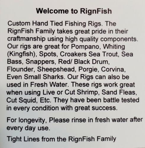 Boat Rigs Hook Rigs Pier Rigs Surf Fishing Rigs 5 Free Shipping 3