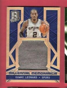 Kawhi-Leonard-JUMBO-PRIZM-GAME-USED-JERSEY-CARD-d-17-25-14-15-SPECTRA-CLIPPERS