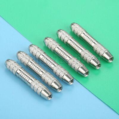 Silver Metal Dart Replacement Barrels for Dart Players Indoor Game 6pcs //set