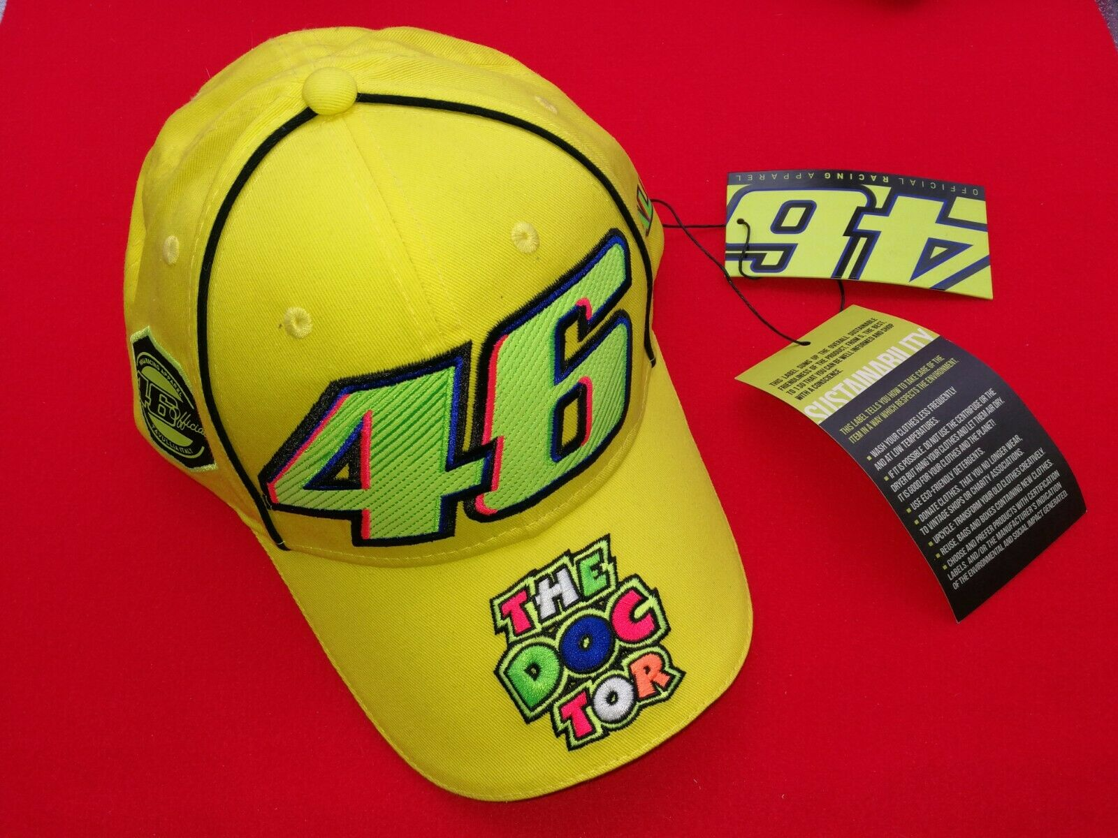 Valentino Rossi VR46 The Doctor Bucket Hat 2019