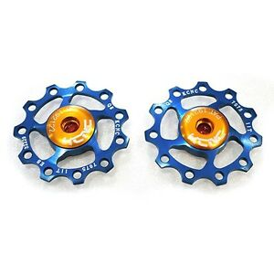 KCNC AL7075 Jockey Wheels Bike Bicycle Rear Derailleur Pulley 11T Blue