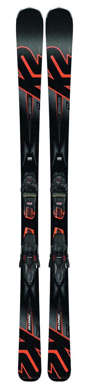 K2 Alpinski Set Ski + Bindung   Ikonic 84 + M3 12 TCX Light Quikclik