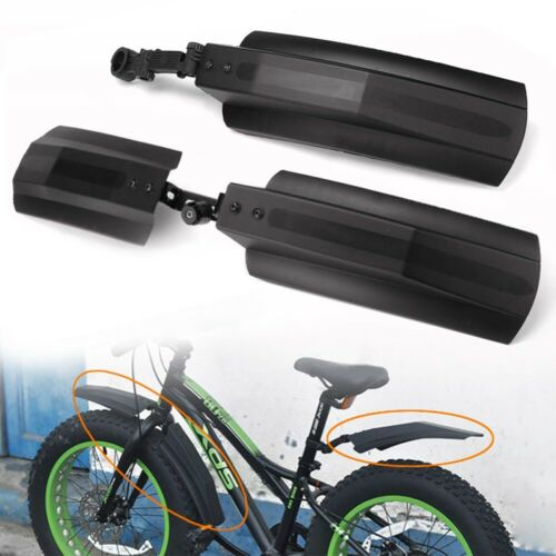 Snow Rain Bicycle Bike Front Rear Mudguard Cycling Fender For Fat Tire Mountain