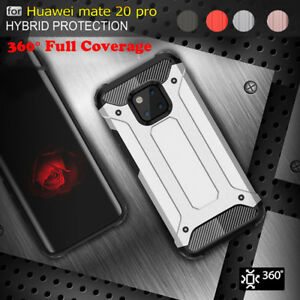 brand new 2be77 8f78f Details about For Huawei Mate 20 Pro Armor Case Hybrid Heavy duty  Shockproof Rugged Cover